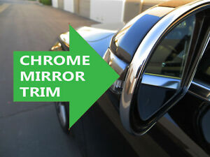 FOR LINCOLN MODELS New Side Mirror trim chrome molding accent - lincoln