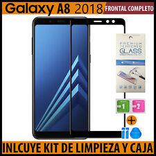 CRISTAL TEMPLADO PROTECTOR DE PANTALLA PARA Samsung Galaxy A8 2018 VIDRIO
