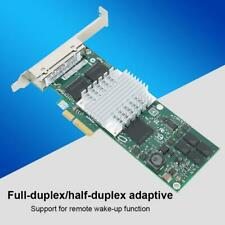 HP quattro porte PCI-e Gigabit NIC scheda di rete-HP P//N 436431-001