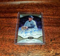 DAVID CONE AUTO SP /299 2020 TOPPS TIER ONE PRIME PERFORMERS AUTOGRAPH #PPA-DC