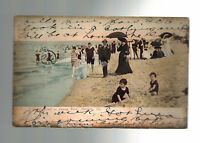 1906 Norfolk Virginia to Muskogee Indian Territory Real Picture Postcard Cover