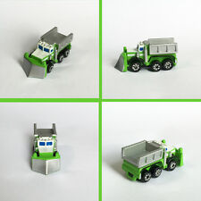 NEW MINT NEVER PLAYED WITH ADULT OWNED MICRO MACHINES SEMI SNOW PLOW DUMP TRUCK