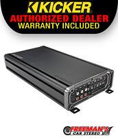 Kicker 46CXA660.5 CX Series 5-Channel Amplifier - 65 watts RMS x 4 at 4 ohms + 3