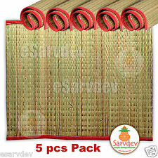 5x Kusha Asan / Darbha Mat For Pooja, Rituals and Meditations Sacred Hand Made