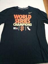 Nike 2014 san Francisco giants world series championship mlb black sz xl
