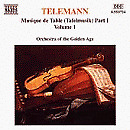 eorg Philipp Telemann - Telemann - Musique de Table, Vol 1 [CD]