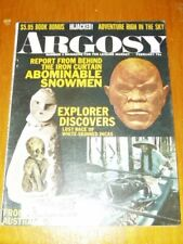 Argosy Magazine Abominable Snowman  February-1971