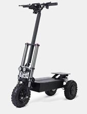 3600w/60v 25AH Foldable Off Road 11in Tire 3 Wheel Trike Electric Scooter NEW