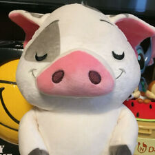 "Disney Store Cuddleez Medium 14"" Soft Plush Huggable PUA Pig Moana Toy"