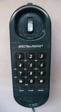 Vintage Green Spectra-Phone TP-9 Corded Push Button Telephone, Desk / Wall Mount
