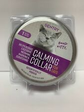 """New ListingSentry Calming Collar for Cats - Last 30 days for up to 15"""" Neck"""