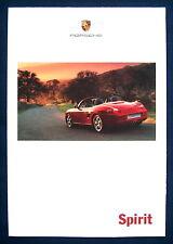 Prospekt brochure Porsche Programm (USA, 1999)