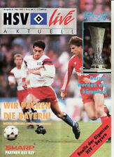 BL 90/91 Hamburger SV - FC Bayern München