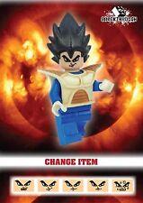 BREAKTHROUGH ARMY - Custom-Made Dragon Ball (6) Vegeta for Lego!