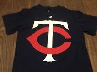Minnesota Twins TC Logo Small T Shirt MLB Majestic
