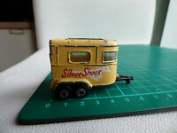 Matchbox Superfast 43a Pony Trailer RARE BEIGE Silver Shoes Vintage Diecast Toy