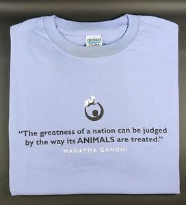 Gandhi Rally to Rescue T-Shirt Short Sleeve Unisex Men Women Lavender Gildan