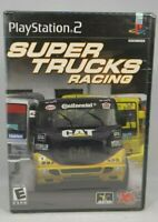 Super Trucks Racing (Sony PlayStation 2, 2003) New sealed !