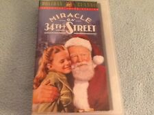 VHS MIRACLE ON 34th STREET VHS CLAMSHELL CASE