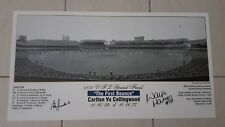 CARLTON 1979 GRAND FINAL FIRST BOUNCE PRINT HAND SIGNED BY JESAULENKO & HARMES