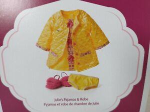 American Girl Julie's Pajamas & Robe ~ Box Creases