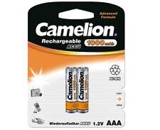 2x Camelion Akkus AAA Micro 1000 mAh für Siemens Gigaset A58H A400 A400A Telefon