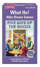 Enid Blyton -? qué Ho! - cinco renunciar a la bebida-después de cenar Juegos-Laguna