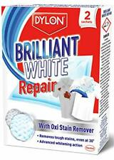 Dylon Brilliant White Fabric Repair With Oxi Stain Remover Laundry 2 Scahets New