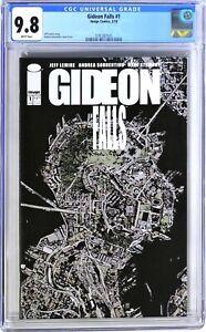 S192. GIDEON FALLS #1 Image CGC 9.8 NM/MT (2018) JAMES WAN ON-BOARD TO DIRECT