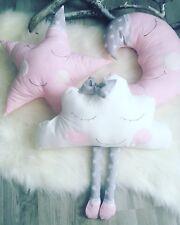 Cushions pillowsstar, cloud ,moon kids set of Cushions nursery baby decor