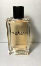 Silver Shadow Davisoff  Men 3.4 oz  After Shave Splash unboxed  Rare