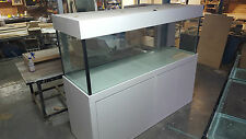 6ft x 2ft x 2FT Aquarium- Glass Fish Tank Modern Style Cabinet,Hood and Base New