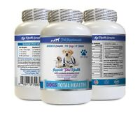 canine eye health - DOG TOTAL HEALTH COMPLEX 1B- vitamin c for dogs pills