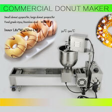 AUTOMATIC DONUT MAKER MAKING MACHINE,WIDE OIL TANK3 SETS MOLD 220V COMMERCIAL AU