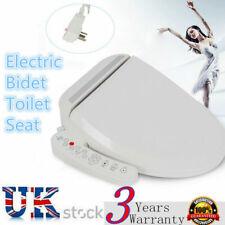 Electric Bidet Warm Toilet Seat 2 nozzles For Elongated Toilets Energy-saving UK
