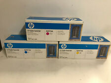 3x orig. HP 123A HP Q3971A HP Q3972A HP Q3973A CYAN+MAGENTA+YELLOW # F860-A2