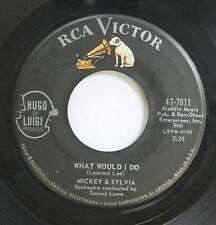 50'S & 60'S 45 Mickey & Sylvia - What Would I Do / This Is My Story On Rca Victo