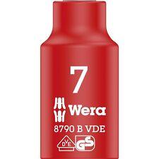 """Wera VDE Zyklop-Steckschlüssel-Einsatz, 7mm, 3/8"""""""