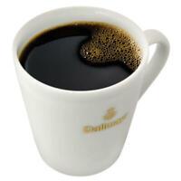 DALLMAYR Kaffeebecher mit goldenem Aufdruck Kaffeetasse Kaffee Becher Weiß 275ml