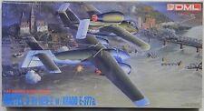 1/72 scale DML plastic model kit of Luftwaffe Mistel 5 He 162A-2 w/ARADO E-377a