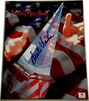 Dick Clark Signed Original Program Complete American Music Awards + Shedaisy GA