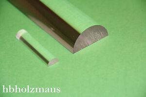 Rundstab klar Acrylglas XT /Ø 40 mm Lang 500 mm farblos alt-intech/®