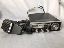 New ListingVintage Midland 23-channel Cb Radio Model 13 - 882C Black And ChromeWorks