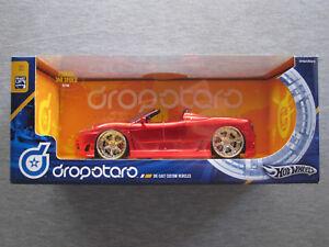 Hot Wheels Dropstars 124 Ferrari 360 Spider (Red) G7136 - NEW