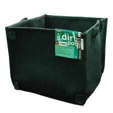 56L FABRIC AIR PRUNING PLANT POT SQUARE PLANTIT dirt fibre hydroponic