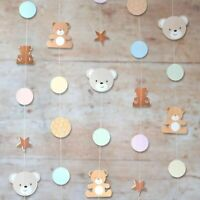Hatton Gate Teddy Bear String Decorations 6 strings each 2 metres per pack