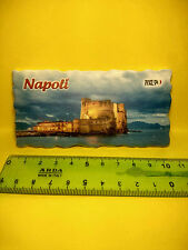 Calamita magnete Napoli Castel dell' Ovo Souvenir made in italy Centro storico