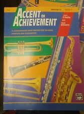 Accent on Achievement Baritone T.C Book 1