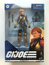 "Gi Joe Classified Series 05 SCARLETT 6"" Figure Hasbro 2020"