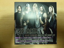 Various ‎- Rock Tribune - CD Sampler ! ( Iced Earth , Riot , Absu ,Vallenfyre,.)